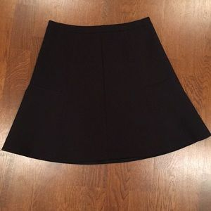 J. Crew Skater Mini Skirt, Black, NWOT, 00